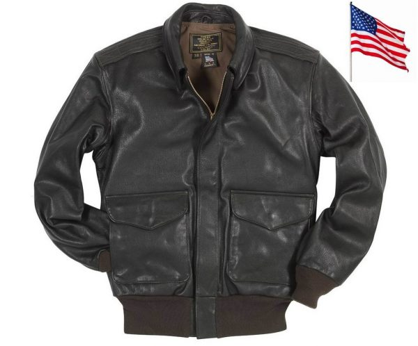 Blouson Aviateur en Cuir A-2 de l'US AIR FORCE