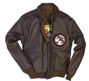 Blouson Aviateur en Cuir A-2 Tokyo Raiders 1942 COCKPIT USA