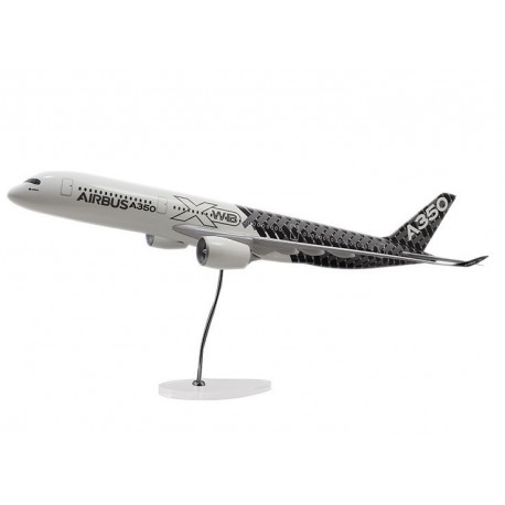 "MAQUETTE ""EXECUTIVE"" A350 XWB MODEL ÉCHELLE 1:100 LIVRÉE CARBONE"
