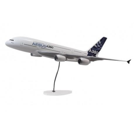 """MAQUETTE """"EXECUTIVE"""" A380 MOTEURS RR 1:100"""