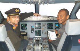 Hyacinthe, un passionné d'aviation de ligne
